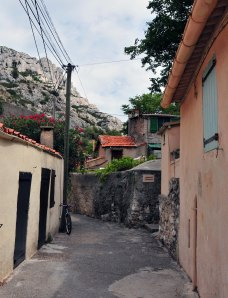 Vilarejo na Calanque de Morgiou. // Petit village de la Calanque de Morgiou.