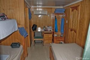 O meu quarto // La chambre où j'ai logé.