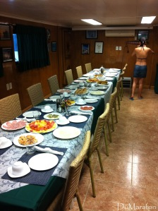 Sala de jantar // Salle à manger.