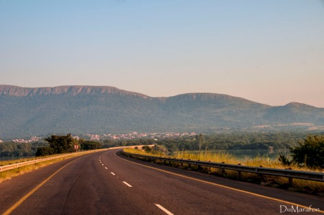 No caminho para Pilanesberg
